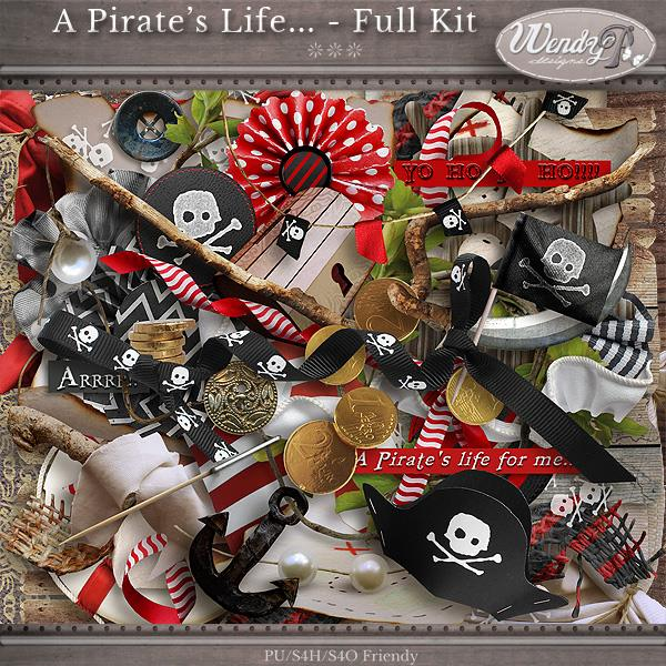 Scrap kit A Pirate's Life