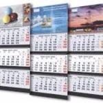 Квартальные и перекидные календари