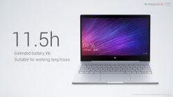 Xiaomi представила свои первые ноутбуки Mi Notebook Air