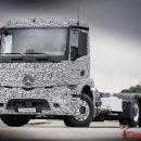 Mercedes представил электрогрузовик