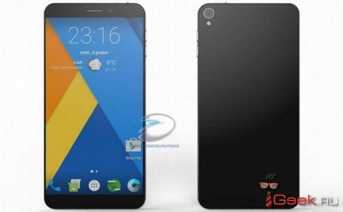 Появились рендеры Nokia С1