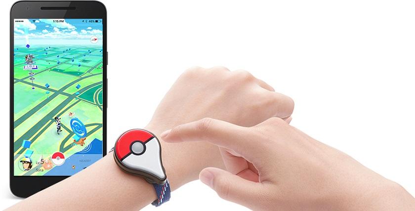 Браслет для Pokemon Go появится в сентябре