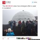 Участники опыта год имитировали экспедицию наКрасную планету— Марс наГавайях