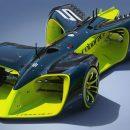 Было размещено изображение первого вмире гоночного робомобиля
