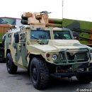 В РФ создали беспилотный бронеавтомобиль «Тигр» спушкой