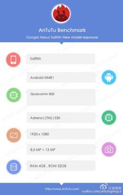 HTC Nexus S1 (Sailfish) засветился в AnTuTu и Geekbench