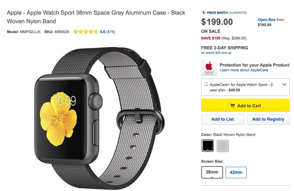 Apple Watch резко упали в цене в преддверии выхода Apple Watch 2