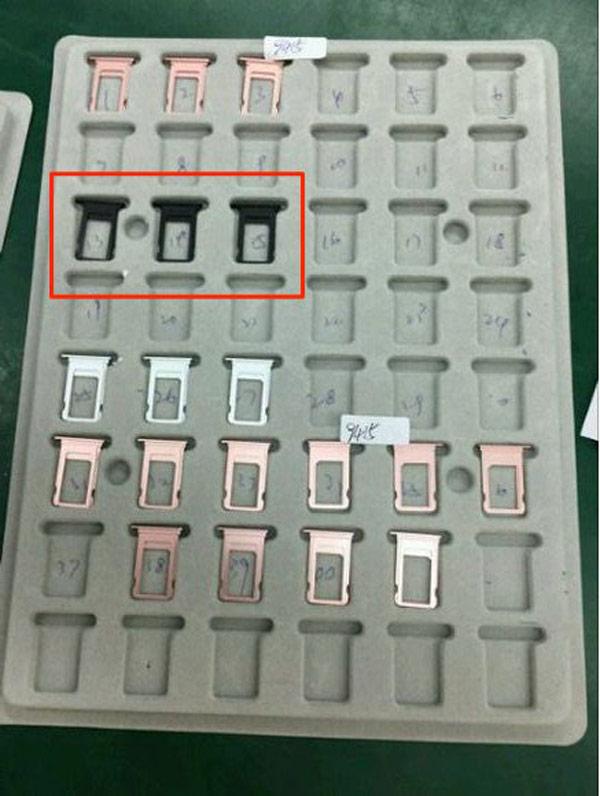 Фото iPhone 7 в цвете Space Black попали в Сеть
