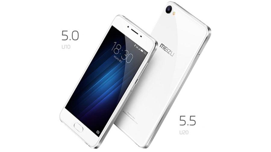 Meizu представила два новых смартфона U10 и U20