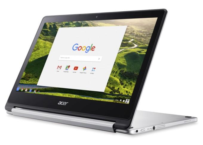 Acer представила хромбук-трансформер Chromebook R 13