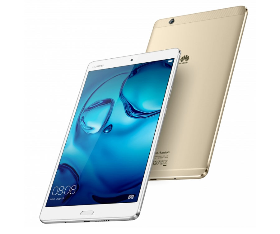 MediaPad M3 — новый флагманский планшет от Huawei
