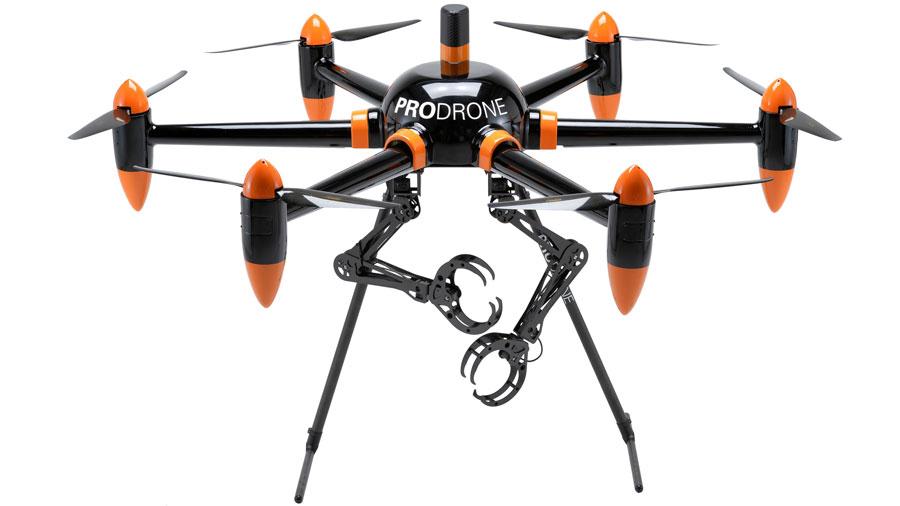 В Японии создали дрона с двумя «руками»
