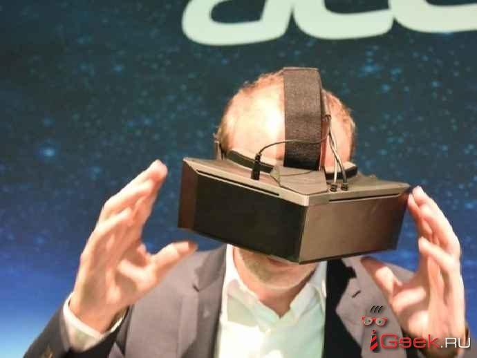 IFA 2016: 5К-шлем виртуальной реальности от тандема Starbreeze и Acer