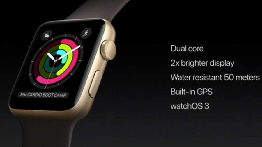 Apple представила новые Apple Watch series 2