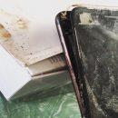 iPhone 7 взорвался при транспортировке пользователю