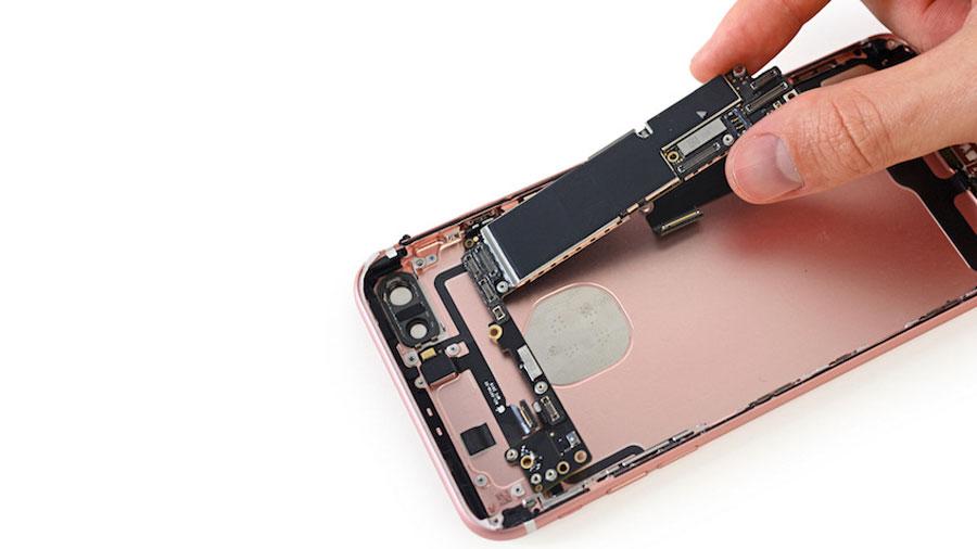 iFixit разобрали iPhone 7 Plus на части