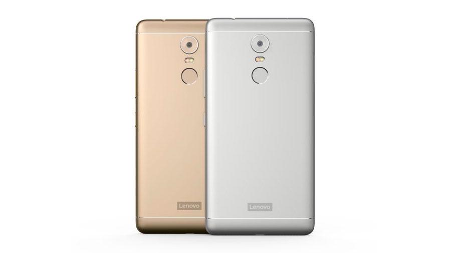Lenovo представила три смартфона K6 из металла