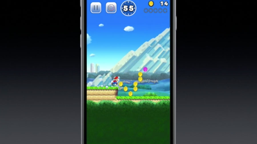 Nintendo анонсировала Super Mario для iOS