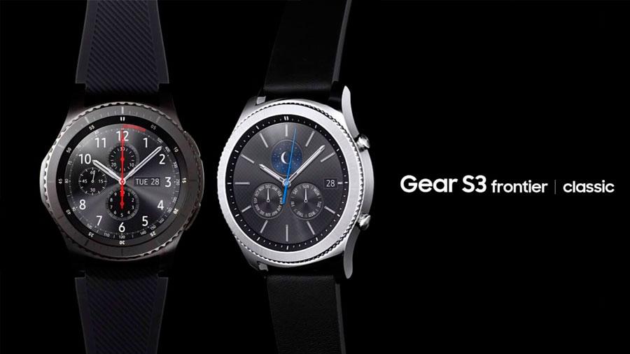 Samsung представила Galaxy Gear S3