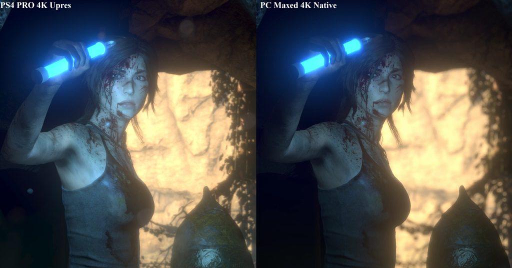На PS 4 Pro продемонстрировали Rise of the Tomb Raider в 4К-разрешении