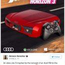 Microsoft подарит геймерам Xbox One S в стиле Audi R8