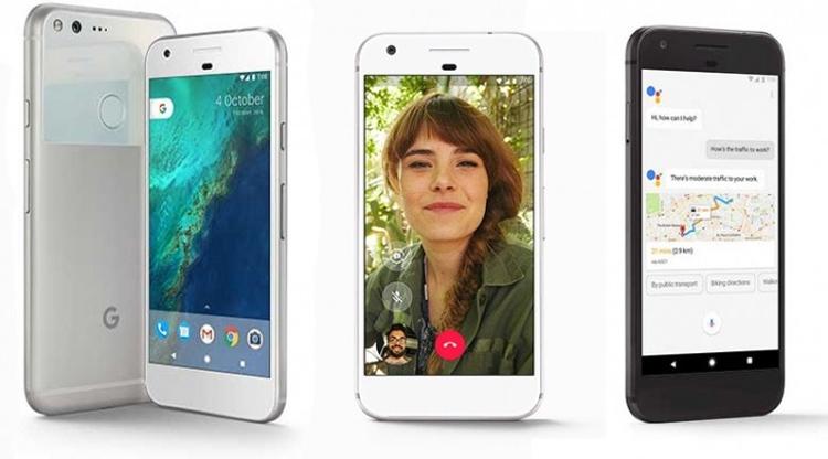 Google официально представила смартфоны Pixel и Pixel XL