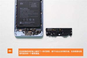 Xiaomi Mi Note 2 был разобран энтузиастами