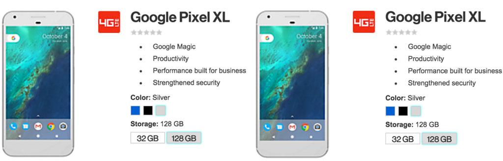 Google Pixel и Pixel XL предстали в синем цвете