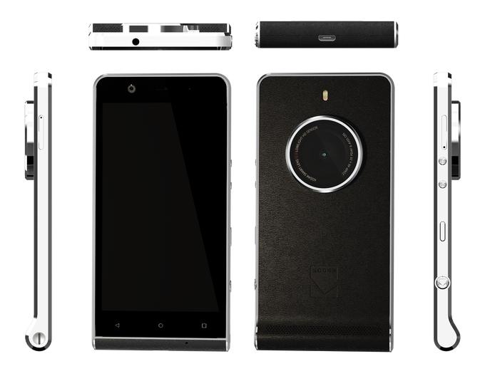 Kodak выпустил смартфон и камеру в одном корпусе