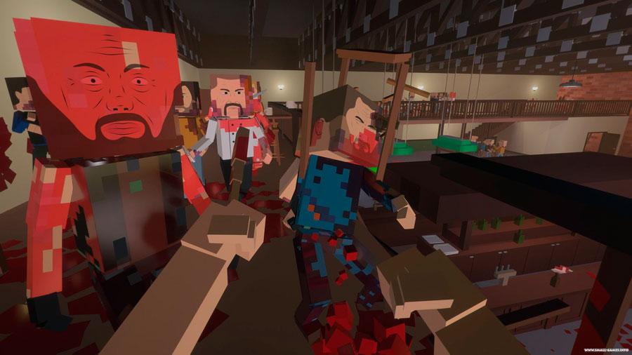 Minecraft для взрослых: Paint the Town Red