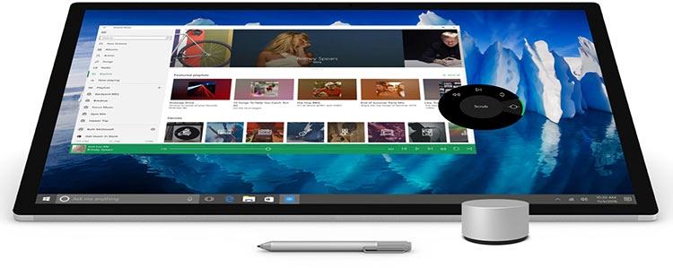 Microsoft представила моноблок Surface Studio