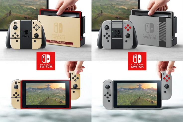 Характеристики и возможности Nintendo Switch обнародуют лишь в 2017 году