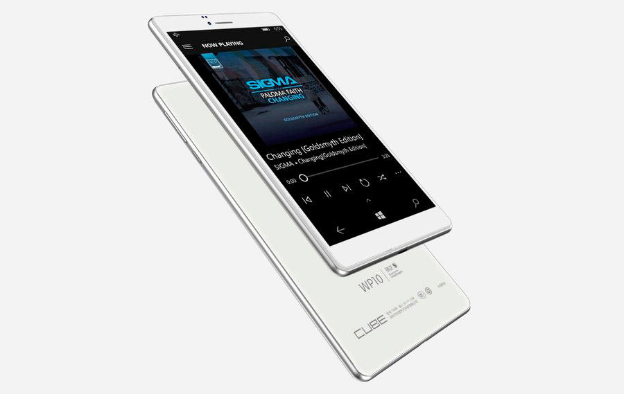 Cube WP10 – огромный смартфон на Windows 10