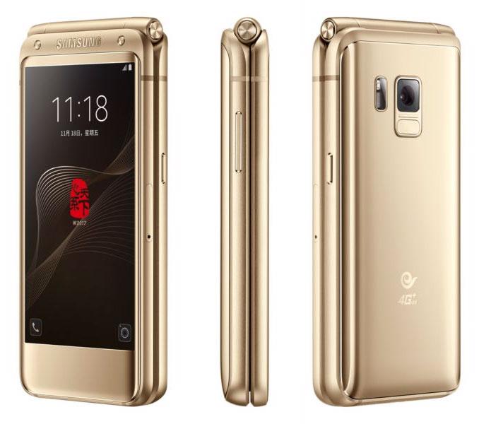 Samsung представила смартфон-раскладушку за 3 тысячи долларов