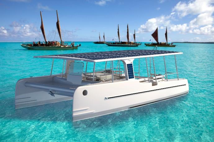 Шесть новейших конструкций для солнечного судоходства