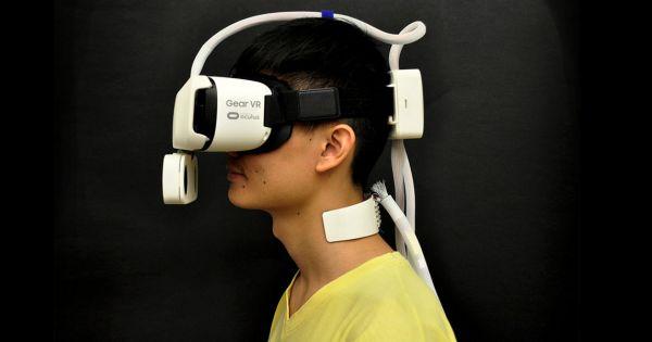 Модули для VR-очков сделали ветер и жару ощущаемыми