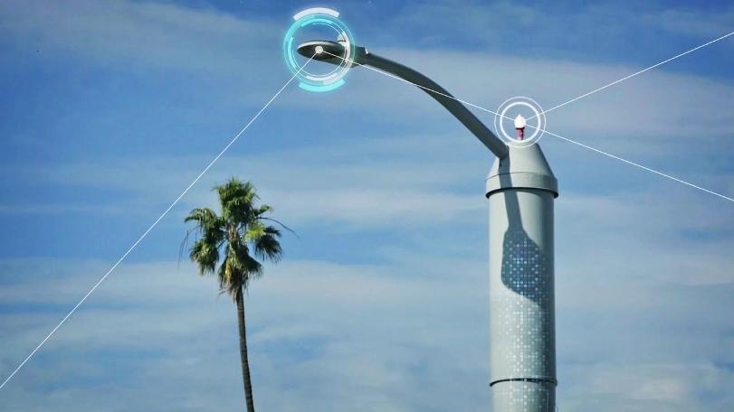 Умные уличные фонари AT&T помогут контролировать дорожное движение и даже преступность на улицах городов