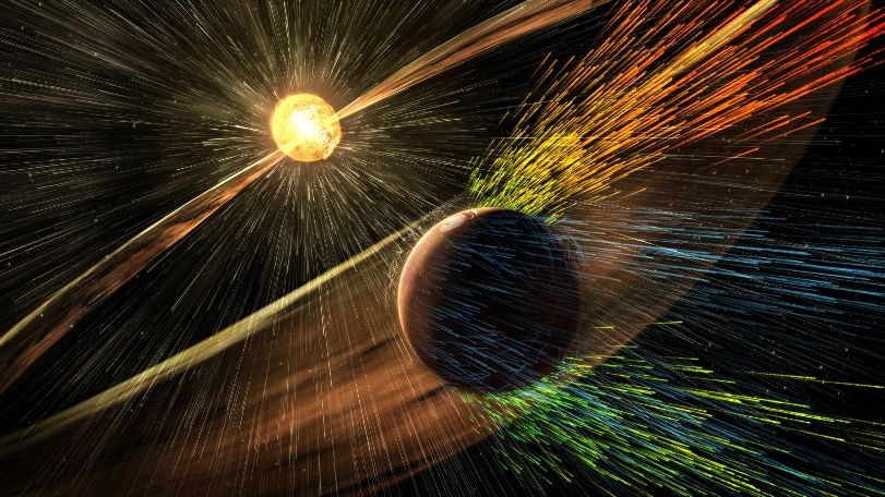 НАСА предлагает восстановить атмосферу и возродить океаны на Марсе с помощью магнитного экрана