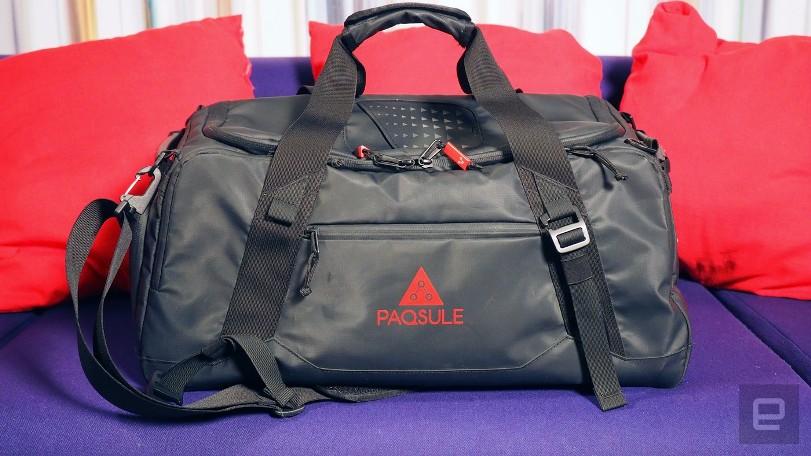 Инновационная сумка освежает пропахшую спортивную одежду