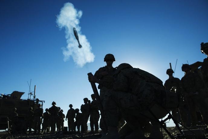 Американская армия намерена осуществлять снабжение войск с помощью минометных выстрелов