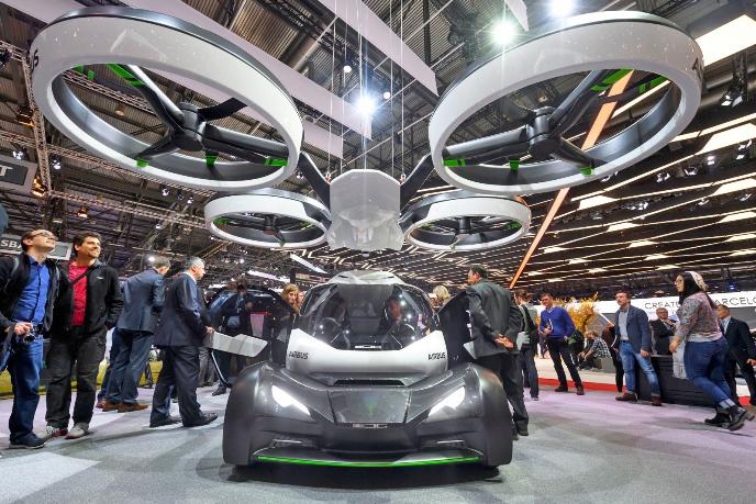 Airbus представил модульную концепцию автономного летающего автомобиля