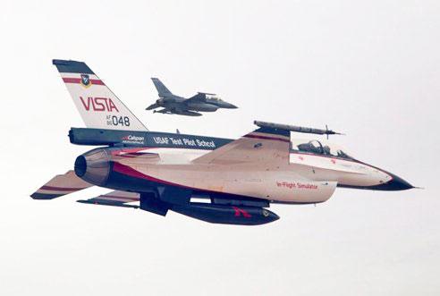 Самоуправляемый F-16 провёл пробную атаку ракетами «воздух-земля» в составе группы пилотируемых истребителей