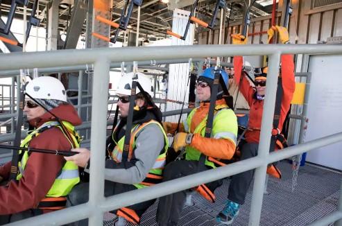 Опробована новая система аварийного спасения астронавтов и обслуживающего персонала на стартовом комплексе