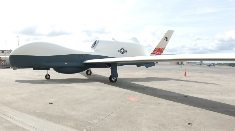 Новый беспилотник для ВМС США MQ-4C «Тритон» вступит в строй в 2018 году