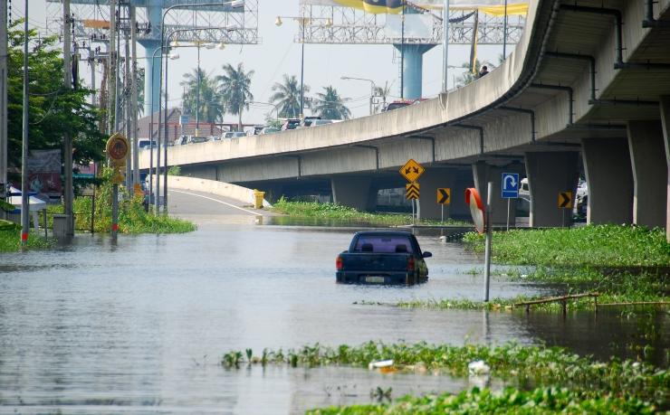Техногенное глобальное потепление делает засухи и наводнения более вероятными