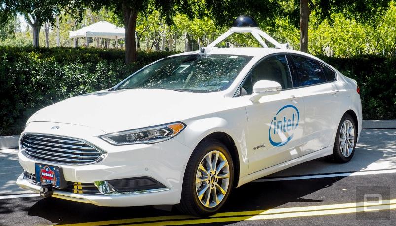 Intel позиционирует себя в качестве производителя «сердец» автономных автомобильных двигателей