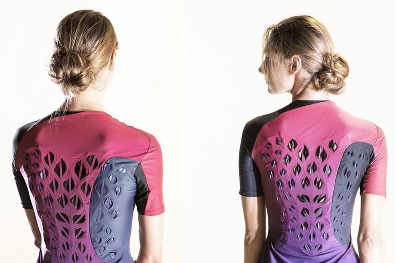 Учёные создали живую дышащую одежду для тренировок