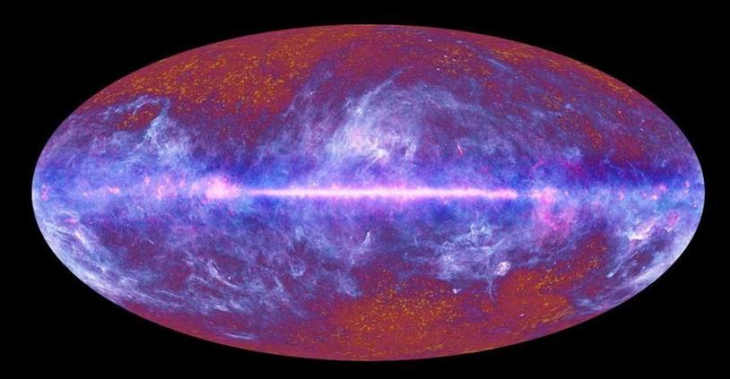 Реликтовое холодное пятно может подтвердить существование параллельных вселенных