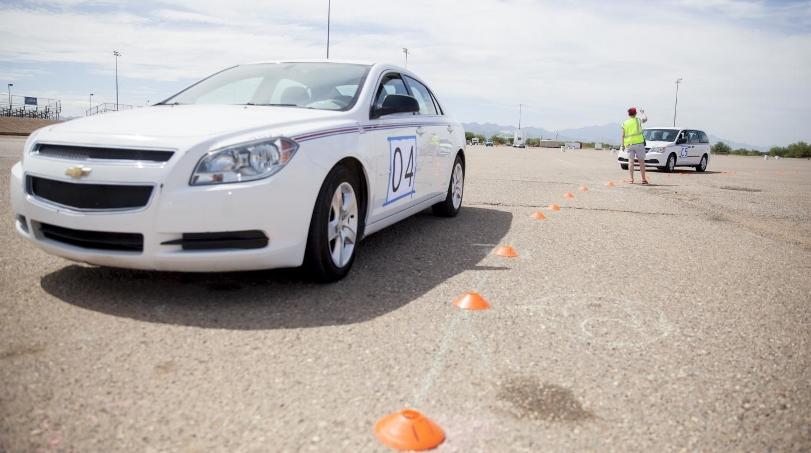 Даже один самоуправляемый автомобиль значительно снижает загруженность дорог