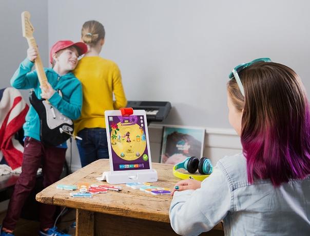 Плагин Coding Jam использует музыкальные блоки, чтобы научить детей концепции программирования